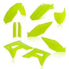 New Acerbis Plastic Kit CRF 450 R/X 17-18 CRF 250 R 18-19 Plastics Neon Yellow